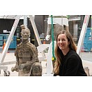 In step with China's Terracotta Warriors at Te Papa