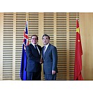 Wang Yi Holds Talks with Foreign Minister Murray McCully of New Zealand