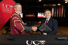 University of Canterbury partners with Chinese university