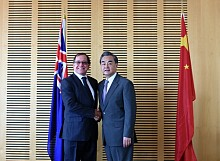Minister Murray McCully Holds Talks with Chinese Foreign Minister Wang Yi
